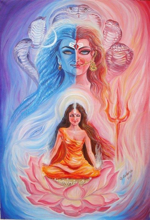 Shiva and Shakti are eternally married because both are composed of awareness. One is awareness resting in silence; the other is awareness flowing out into creation. ~ Deepak Chopra
