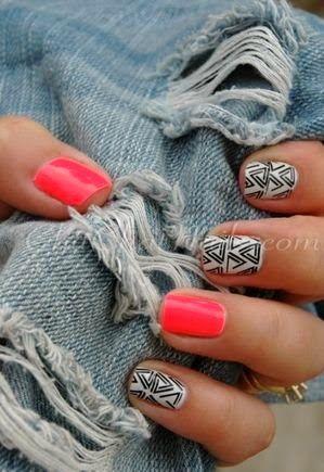 sexy Nail Art for Short Nails 2014