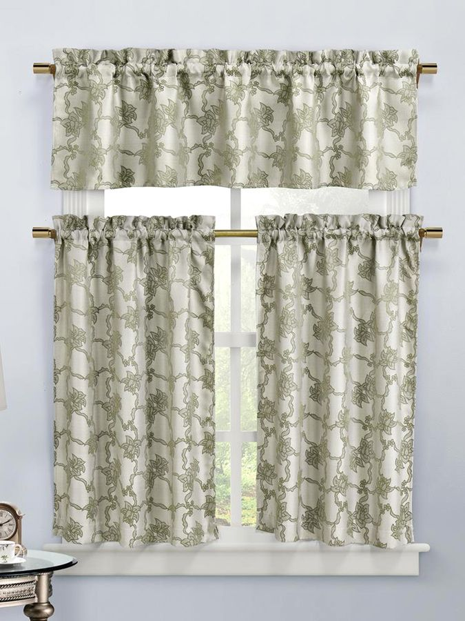 Duck River Gala Kitchen Curtain Set (3 PC)