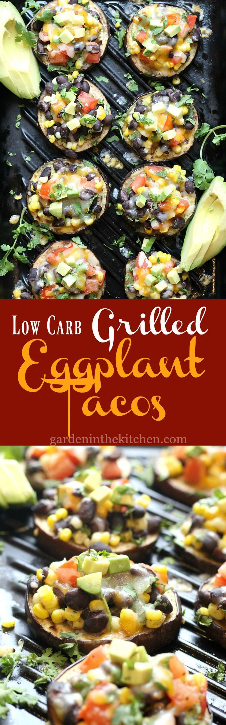 Low-Carb Grilled Eggplant Tacos