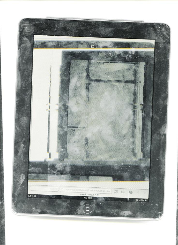Andrea Longacre White, Pad Scan, 2012.