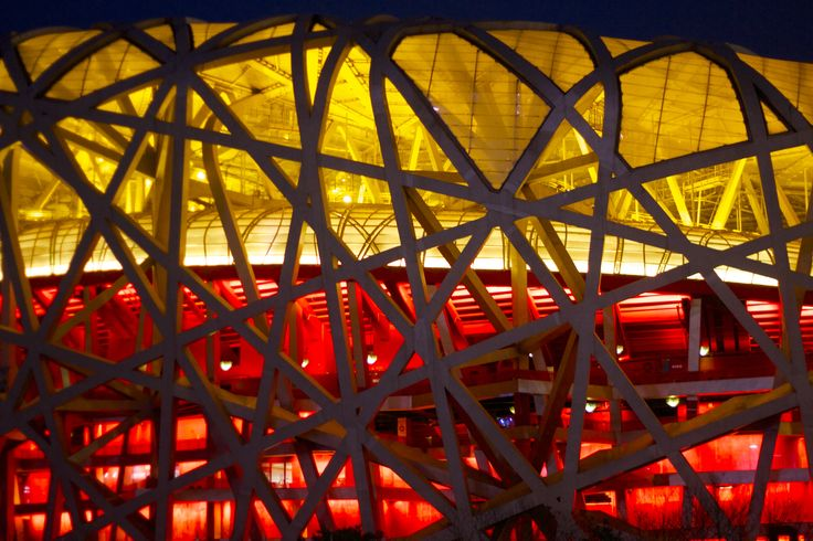 Bird nest by Herzog & de Meuron, Beijing Olympic Stadium. China. Photo by Guillermo Marcondes Zambrano.