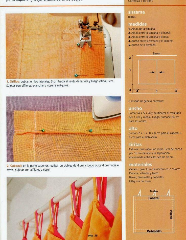 Como hacer cortinas paso a paso