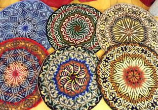 knitted tams: charted fair isle designs - Google Search