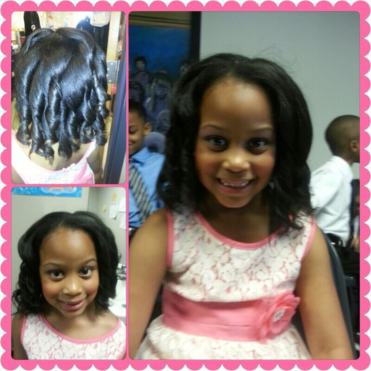 Graduation Hairstyles Girls: My Boo Ready For Graduation!!! Kindergarten Here She Come