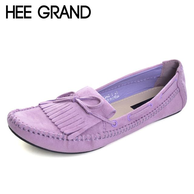 Fair price HEE GRAND Candy Color Women Loafers Tassel Fashion Round Toe Ladies Flat Shoes Woman Sweet Bowtie Flats Casual Shoes XWD2477 just only $13.76 with free shipping worldwide  #womenshoes Plese click on picture to see our special price for you