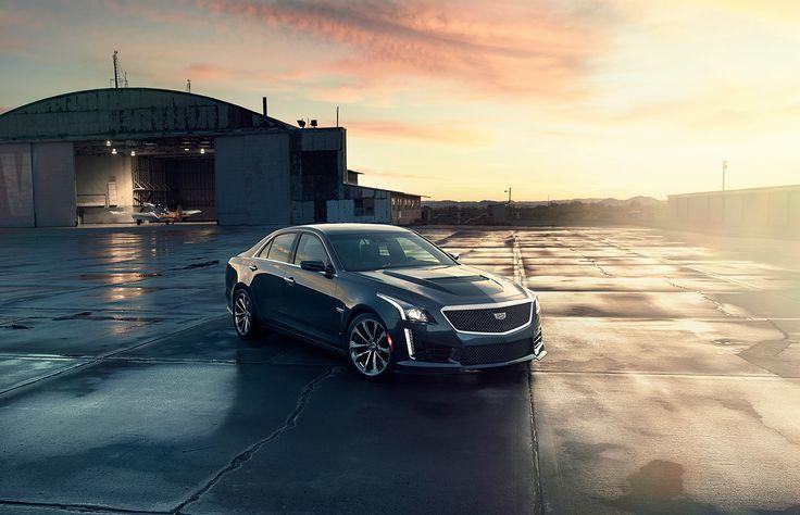 Cadillac CTS_V on Behance