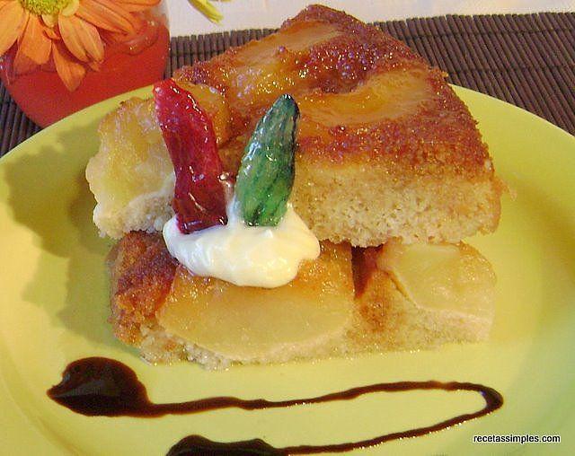 Torta de manzana invertida (riquisisisisisima)