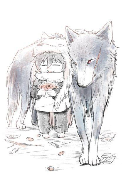 Kekkai Sensen: Leo and Wolf Steven.