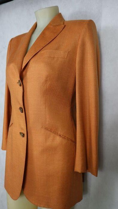 Kiton - blazer con doppio spacco