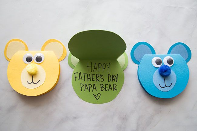 Bear Craft The Best Ideas For Kids Fathers Day Crafts Bear Crafts Dad Crafts