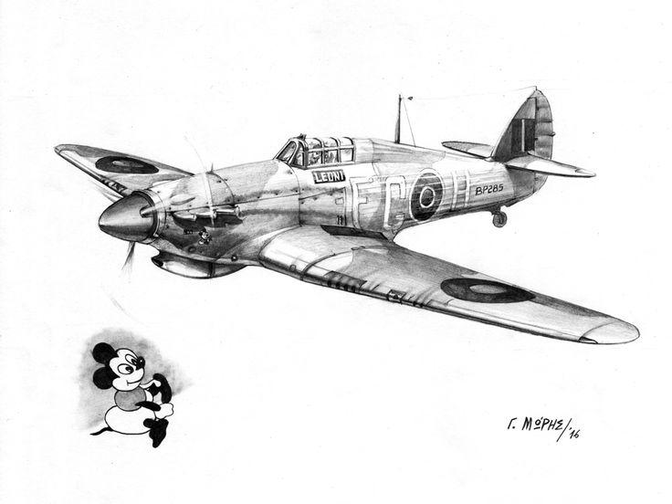 "335th Hellenic Squadron, N.Africa, Hurricane Mk.IIb ""LEONI"", FG-H, BP285 – Moris Georgios / Μώρης Γεώργιος"