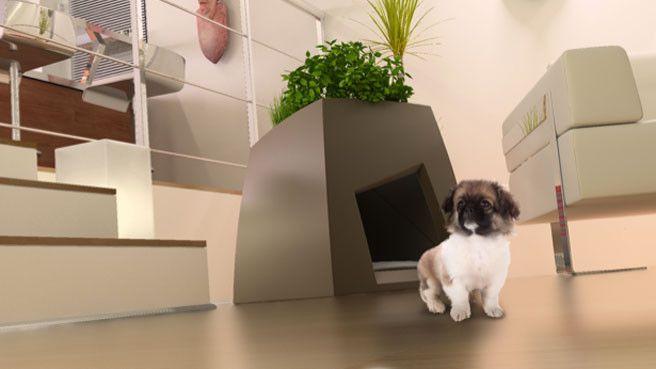 Quand la niche de notre chien doit trouver sa place dans notre salon, le casse-tête commence ! Mais heureusement, on trouve aussi des niches très d...