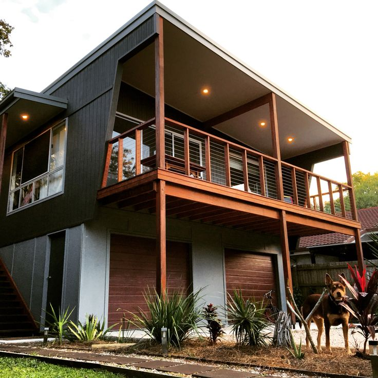 Beach house front