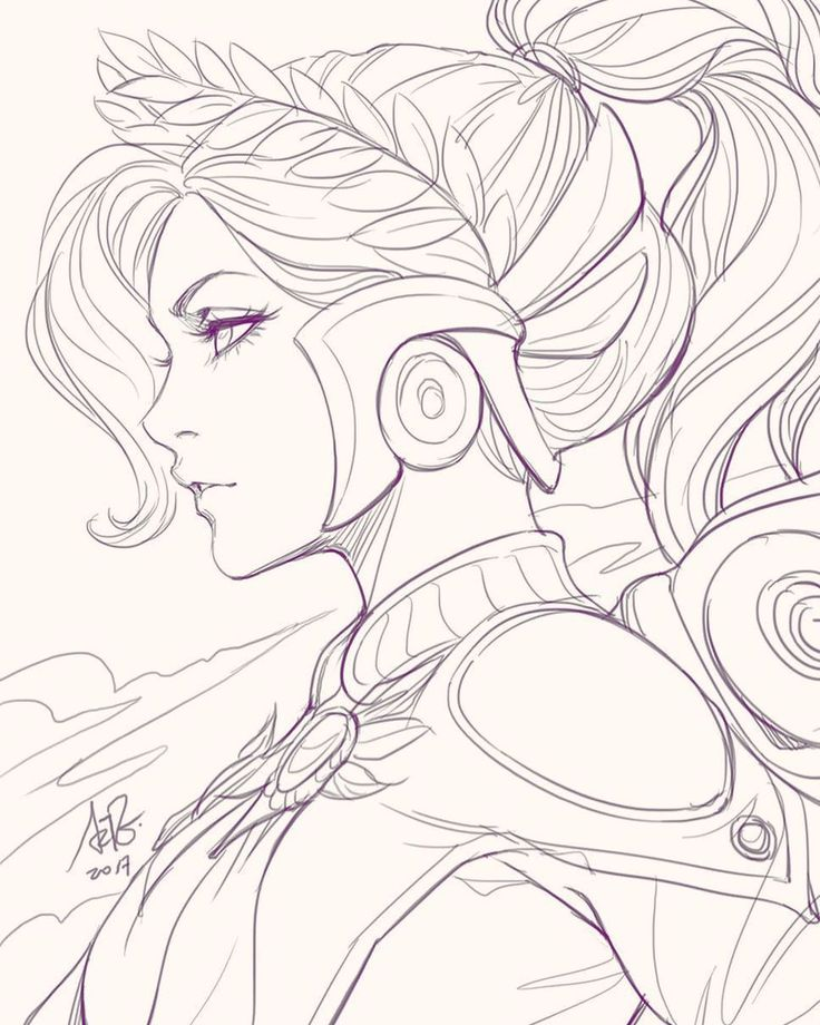 "8,376 curtidas, 46 comentários - Stanley Artgerm™ Lau (@artgerm) no Instagram: ""In class doodle of Winged Victory Mercy. 30mins. #overwatch #mercy #wingedvictorymercy"""