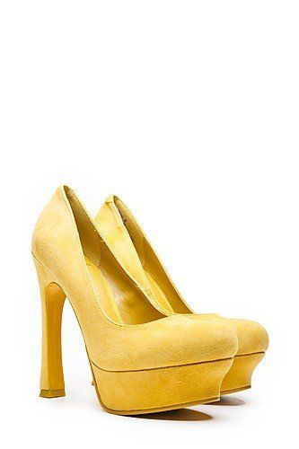 Kelsi Dagger NYC Pumps Yellow - http://on-line-kaufen.de/kelsi-dagger-nyc/kelsi-dagger-nyc-pumps-yellow