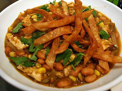 Chicken Chili Verde Recipe for Two