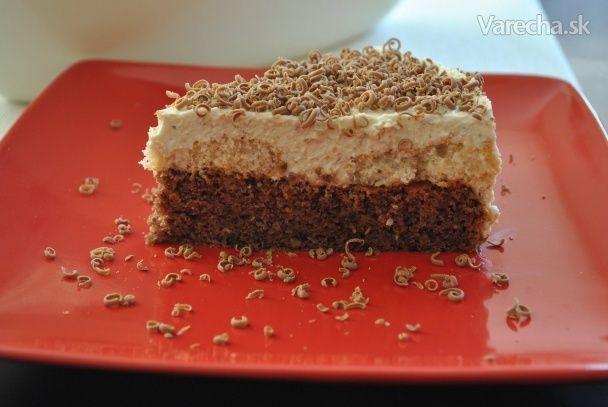 Šťavnatý orechový koláčik