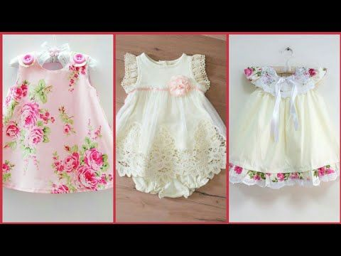 777ab52d5563a Latest and stylish baby frocks design easy to make at home - YouTube ...