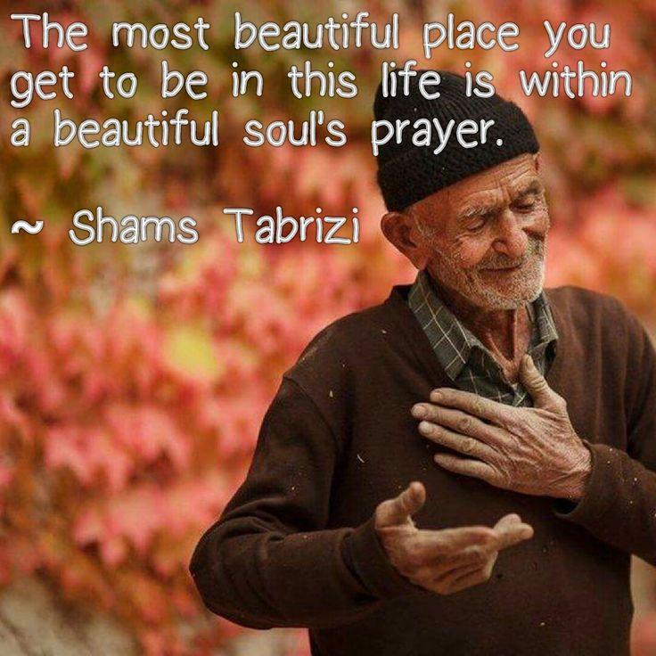 Shams Tabrizi quote....