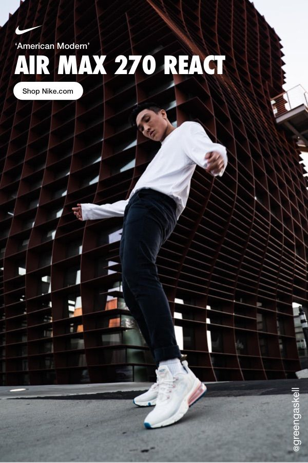 Nike Air Max 270 React (American Modern Art) Zapatillas