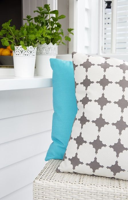 The house was painted a fresh white, Dulux Mt Aspiring Quarter and then we added a fresh mix of custom made cushions in UV resistant fabrics designed to go outside. Decorating products are available in New Zealand through Guthrie Bowron stores.