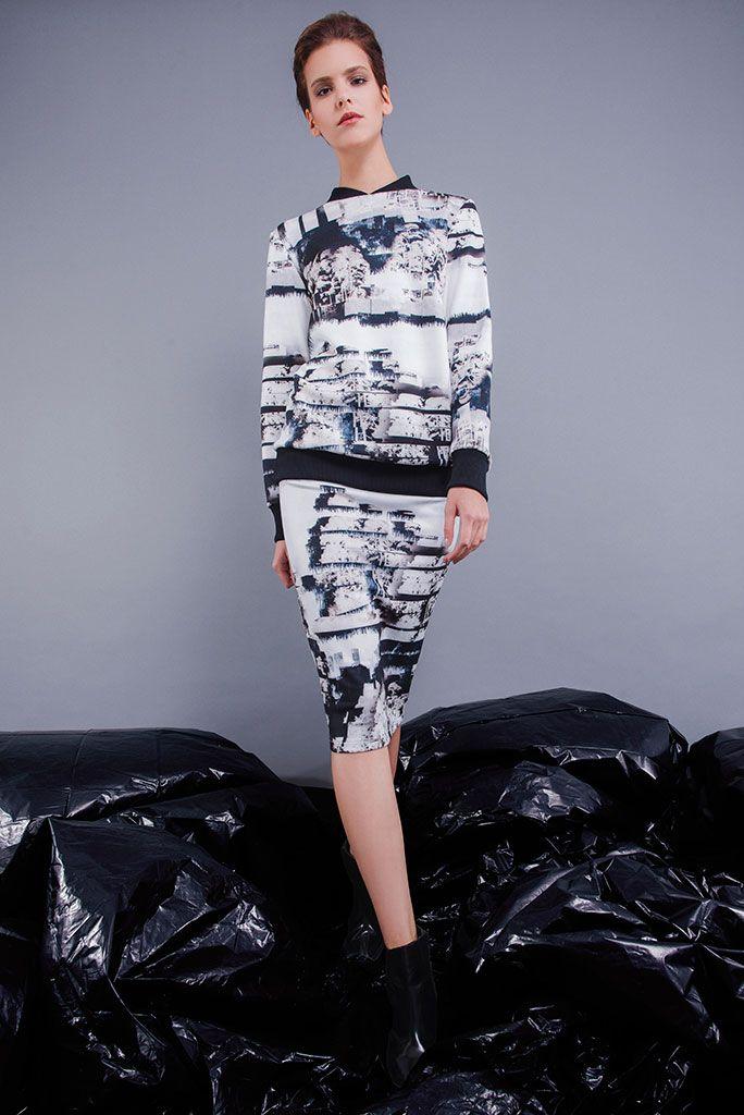 imogen jumper and skirt