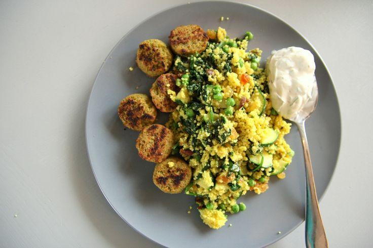 Pistache perfect couscous, recept door de Tofu Twins. http://www.tofutwins.nl/recepten/pistache-perfect-couscous/