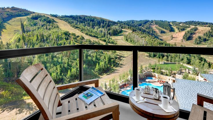 The St. Regis Deer Valley - Residence Balcony