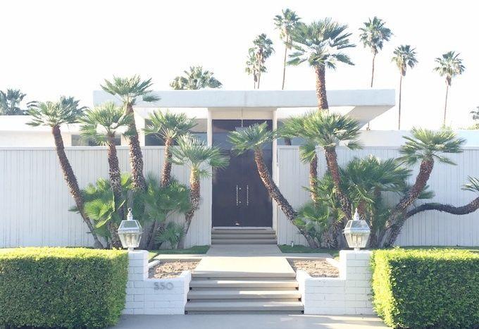816 best retro palm springs images on pinterest for Palm springs landscape design