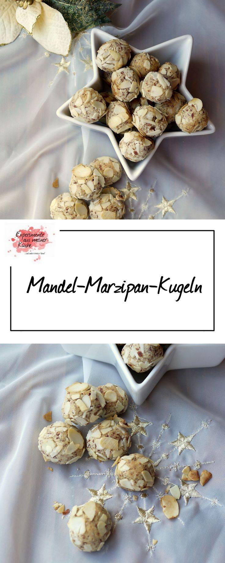 Mandel-Marzipan-Kugeln | | Weihnachtsbäckerei | Rezept | Backen | Plätzchen