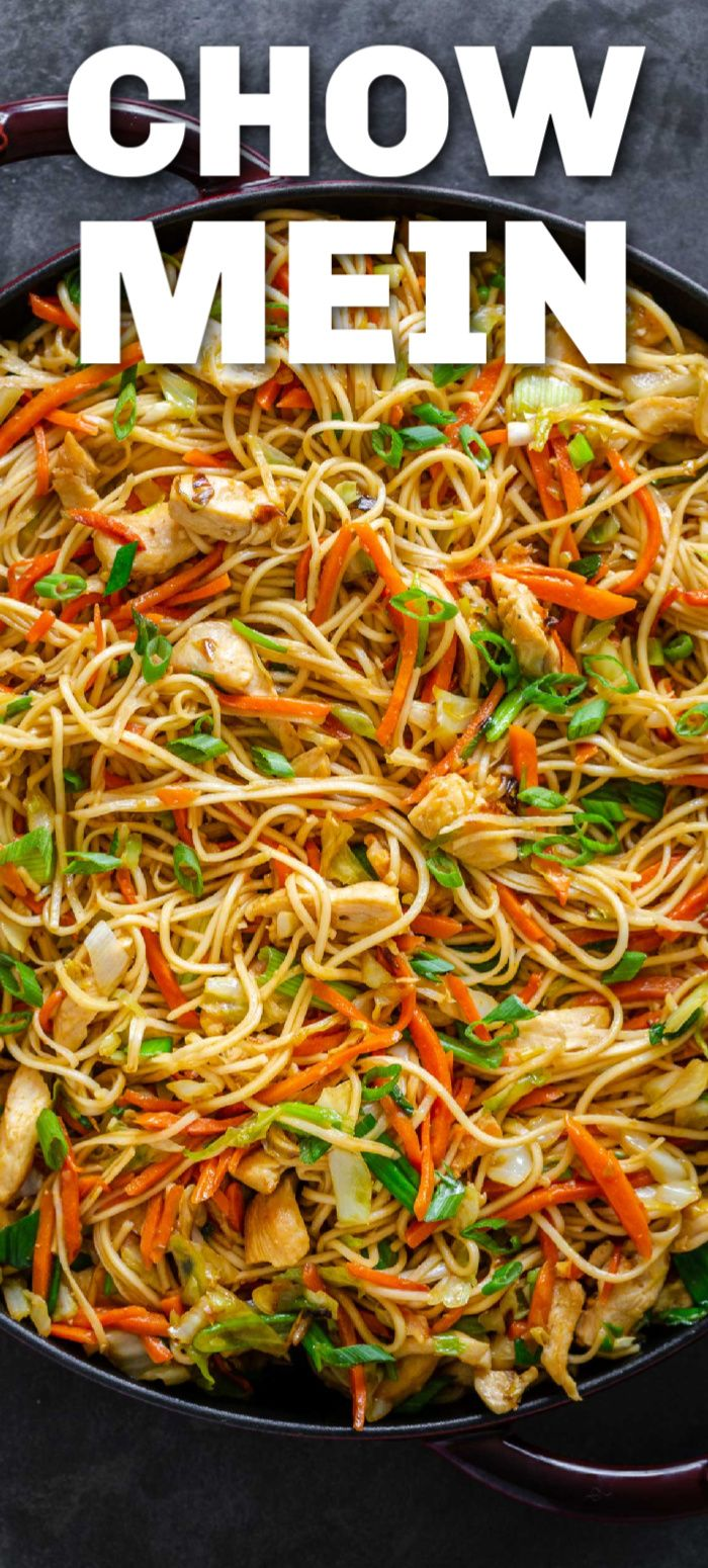 Homemade Chow Mein Is Easier Than You Think This Has Chicken