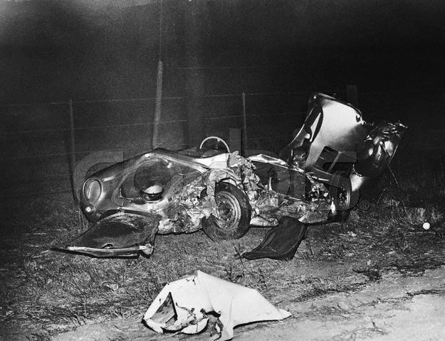 james dean car accident 1955