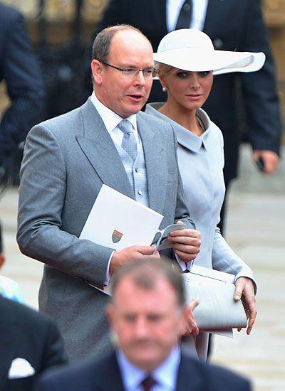 2011: Fürst Albert II. und Charlene Wittstock in London