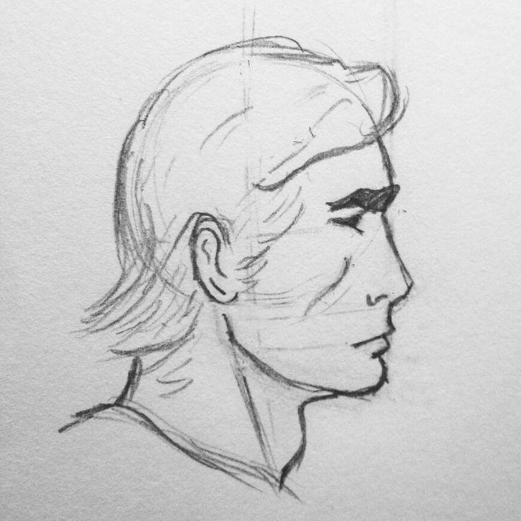 A marvel sketch of a random hero.