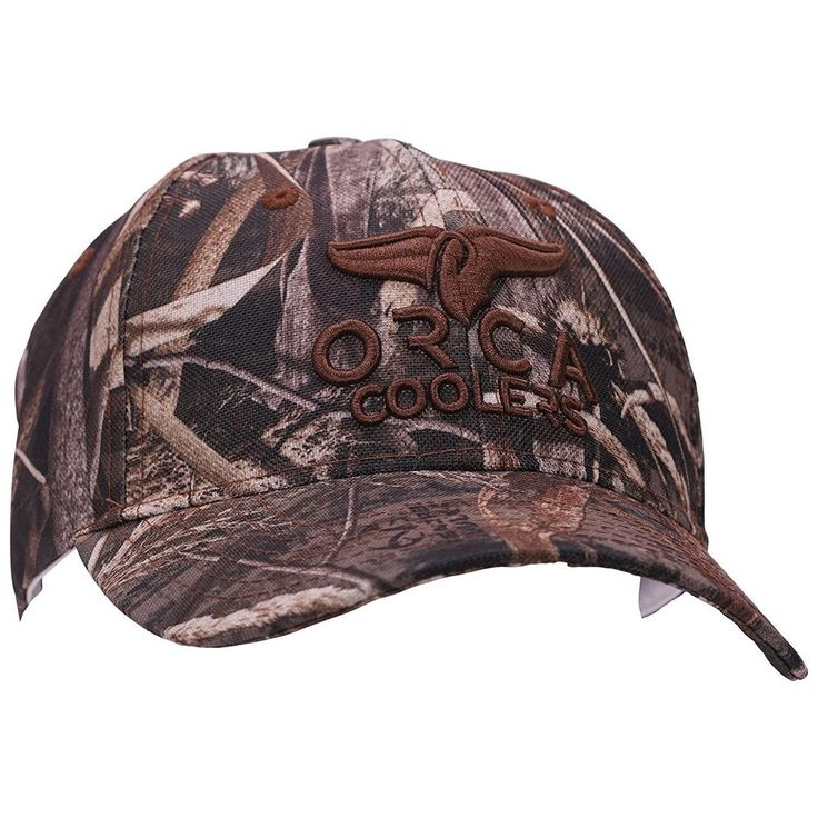 Men's Orca Coolers  Real Tree Max-5 Camouflage  Baseball Cap/Hat #OrcaCoolers #BaseballCap