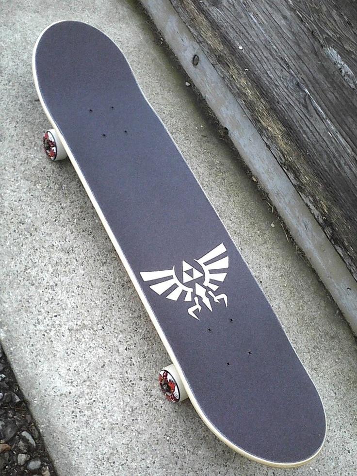 The legendofzelda grip tape skateboard \../