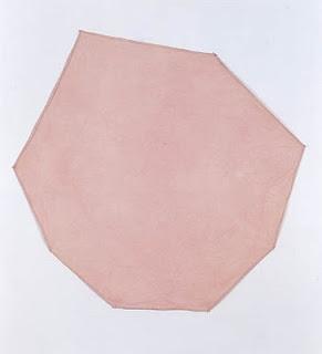 """richard tuttle, """"purple octagonal"""" 1967"""