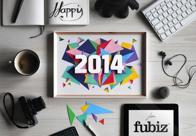 Happy 2014 from Fubiz - http://www.fubiz.net/2014/01/20/happy-2014-from-fubiz/