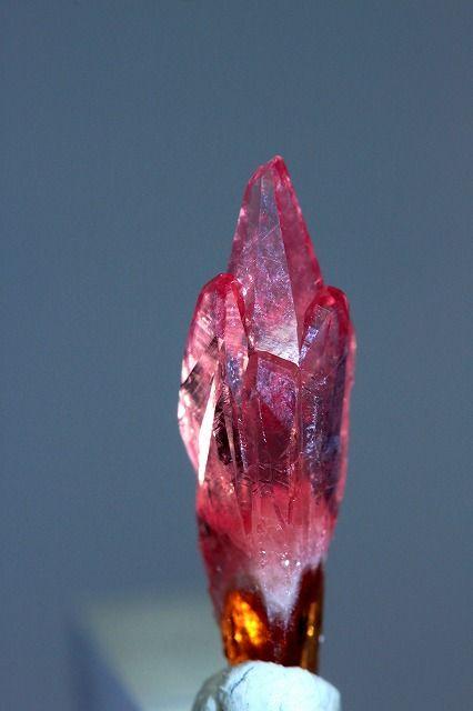 ロードクロサイト 13 Rhodochrosite  菱マンガン鉱  N'Chwaning mine, Kuruman, South Africa