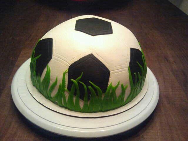 Voetbal taartje