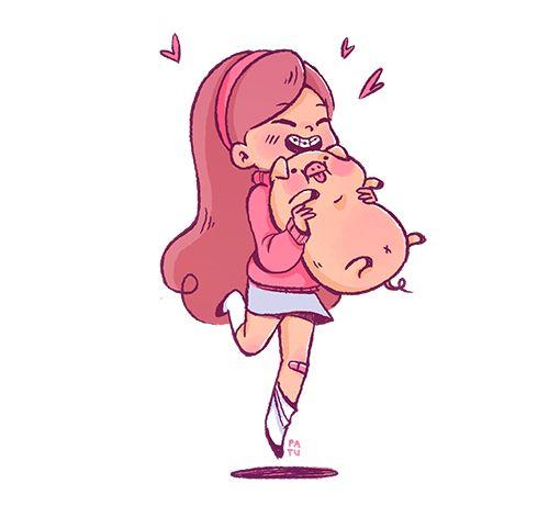 Cute little Mabel