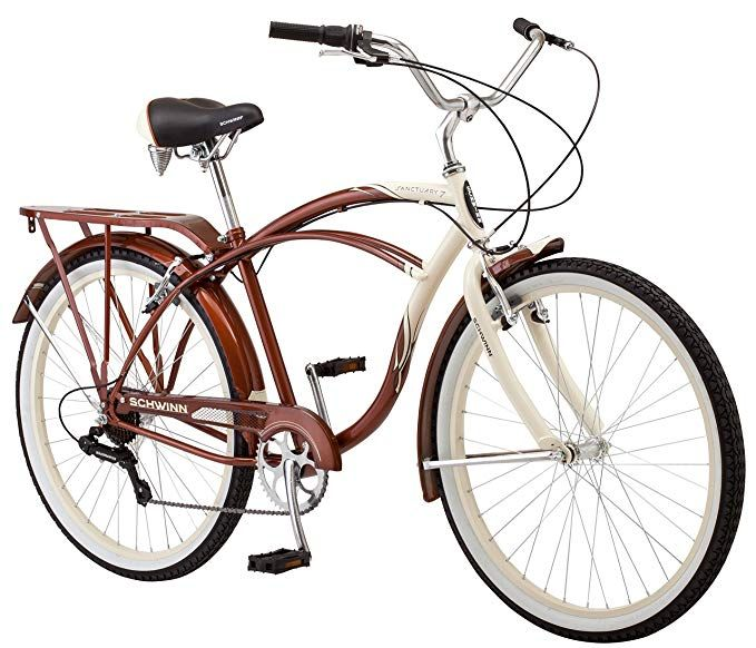 Schwinn Sanctuary Cruiser Bicycle 26 Inch Wheels 7 Speed Schwinn Bike Men Gateway Comfort Bicycle Cruiser Bicycle Cruiser Bike