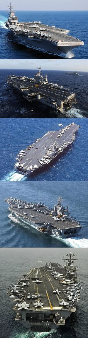 Got a favorite U.S. aircraft carrier? Thanks to those who serve...
