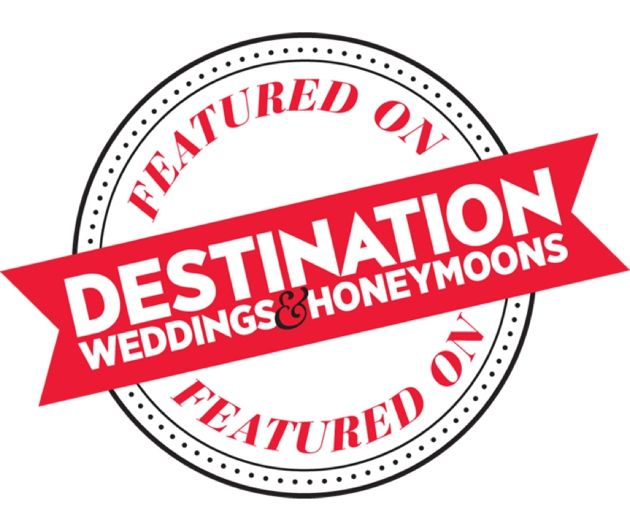 Featured on Destination Weddings & Honeymoons Magazine!