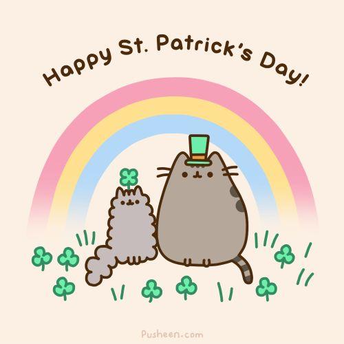 Saint Patrick's Day,pusheen,comics,funny comics & strips, cartoons