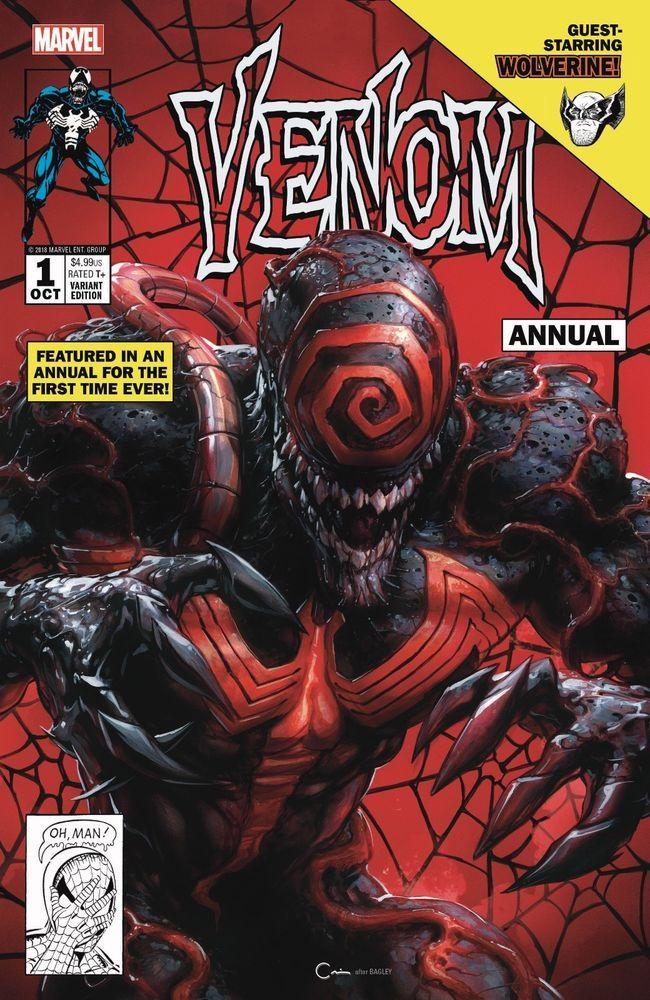 Venom 2 Clayton Crain Trade Variant LTD 3000 NM or better Donny Cates Marvel
