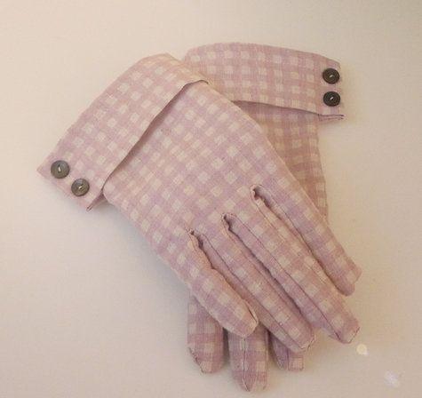 Vintage перчатки стиль.Скачать выкройку.. Обсуждение на LiveInternet…