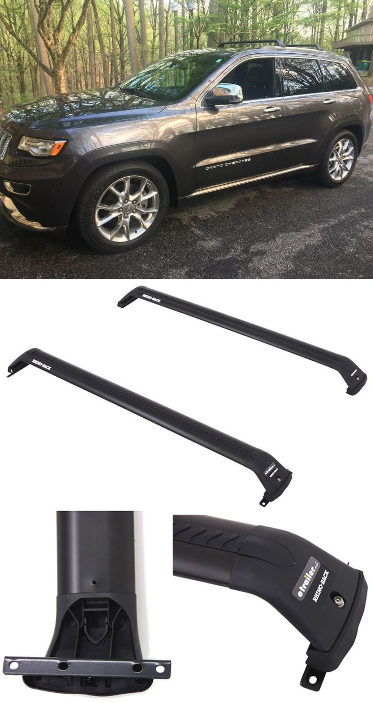 Quiet low profile roof rack lets you mount carriers and accessories on your jeep grand cherokee jeep grand cherokee pinterest roof rack