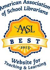 Najlepsze Strony do nauczania i uczenia się 2013 | American Association of School bibliotekarzy (AASL)
